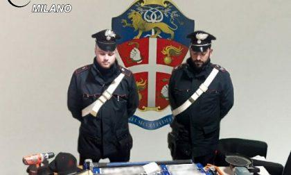 Arrestati due ladri professionisti