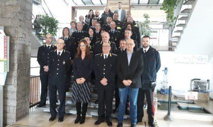 Parabiago: consegnati i gradi agli agenti della Polizia Locale