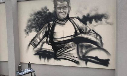 Un murales per Libero Ferrario a Parabiago