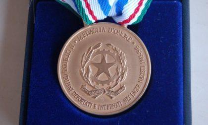 Medaglia d'onore a un cittadino bollatese