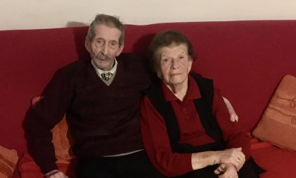 Angelina e Francesco festeggiano 70 anni di matrimonio