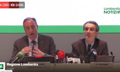 Coronavirus, la diretta della conferenza stampa di Regione Lombardia