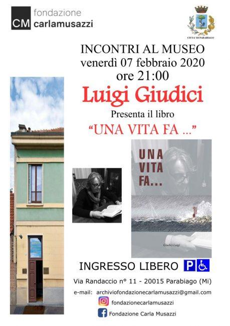 Parabiago, Luigi Giudici presenta il suo libro al Museo Musazzi