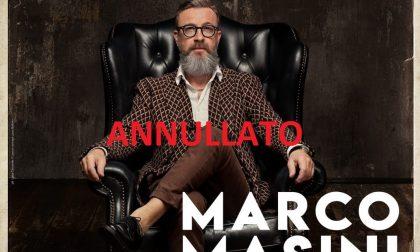 Marco Masini ad Arese: annullata la tappa