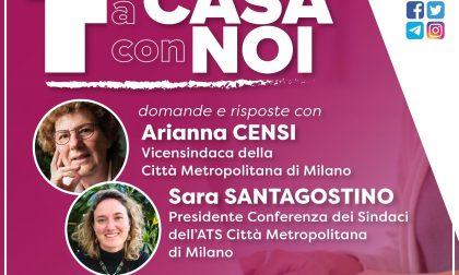 Resta a casa con noi: Arianna Censi e Sara Santagostino rispondono in diretta alle vostre domande
