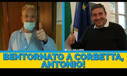 Guarisce dal Coronavirus a 85 anni: Antonio torna a casa