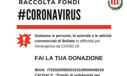 Coronavirus, una raccolta fondi in favore di Bollate