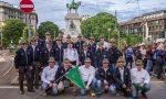 Gli Alpini fanno una donazione per l'ospedale da campo di Bergamo
