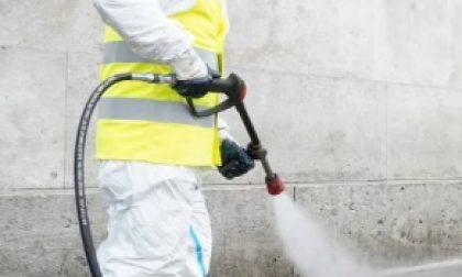 Igienizzazione strade in corso a Legnano