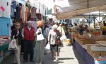 Chiusura del traffico per il mercato settimanale ad Abbiategrasso