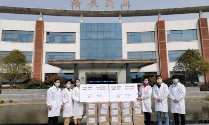 Coronavirus, Nms dona le prime 2500 mascherine