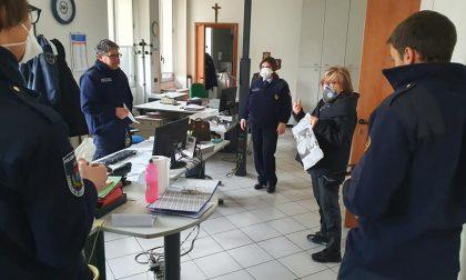 Coronavirus, il sindaco ringrazia forze dell'ordine e Polizia Locale FOTO