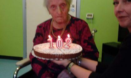 102 candeline per Luigia Restelli