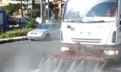 Coronavirus, sanificazione delle strade a San Vittore: parla il sindaco
