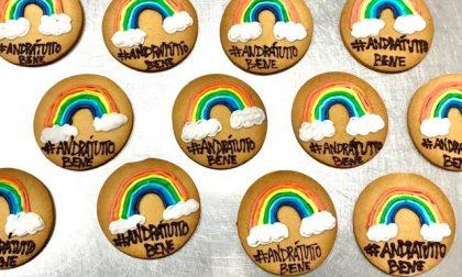 Parabiago, i biscotti arcobaleno diventano virali