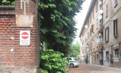 Sgombero nel complesso di via Dante, trovati alcuni abusivi