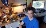 Uno studente del Bachelet crea le valvole per i respiratori con la stampante 3D
