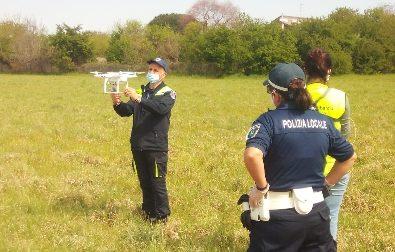 Il drone per controllare le aree verdi