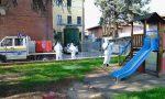 Coronavirus: sanificazione arredi urbani, in azione la Protezione civile FOTO