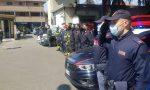 L'omaggio delle Forze dell'ordine a medici e personale sanitario FOTO e VIDEO