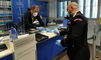 A Settimo i carabinieri consegnano la pensione