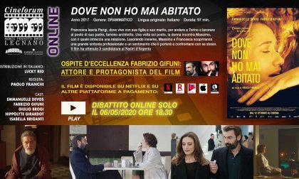 Fabrizio Gifuni ospite del cineforum online