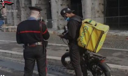 Tutela dei riders: Carabinieri in azione in tutta Italia – IL VIDEO