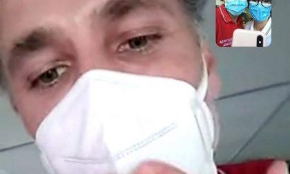 Raoul Bova telefona alle soccorritrici della Croce Rossa di Legnano e Parabiago