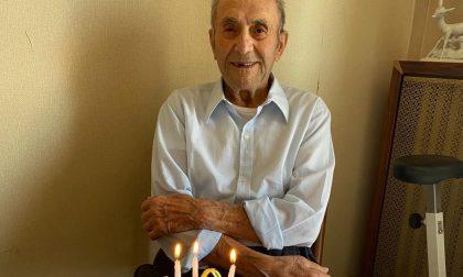 I 100 anni di Giuseppe Birelli: Cusago celebra il suo reduce. FOTO