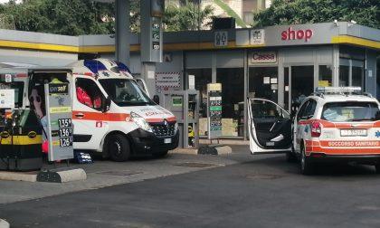 Due operai ustionati al benzinaio FOTO