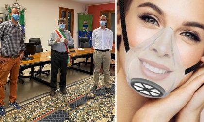 Coronavirus, azienda dona a Cisliano mille mascherine trasparenti