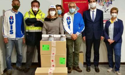 Avis completa la consegna di 5mila mascherine al Comune