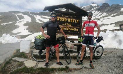 Novatese fa il giro di Lombardia in bici in sette giorni