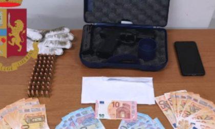 Trovato con pistola e 50 proiettili: arrestato