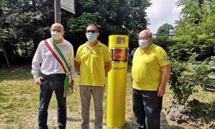 Inaugurato il terzo defibrillatore da esterno FOTO