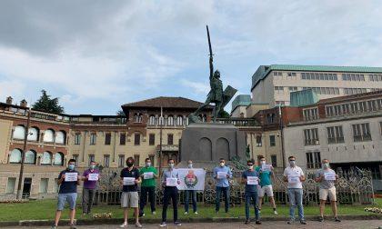Flash Mob della Lega Giovani contro il degrado