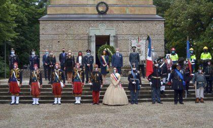 Cerimonia ridotta per la Battaglia, ricordando i valori del 4 giugno VIDEO E FOTO
