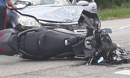 Grave incidente stradale: sul posto anche l'elisoccorso