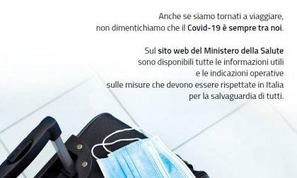 Covid, Materiale informativo per i turisti