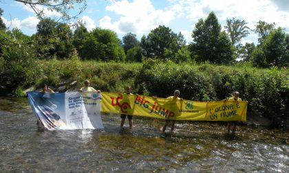 """Big jump nell'Olona: """"Basta trattare il fiume come un collettore fognario!"""" FOTO"""