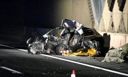 Incidente mortale in autostrada: perde la vita un 25enne FOTO