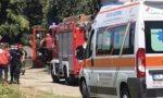 Incendio in via Silvio Pellico, intervengono i Vigili del fuoco