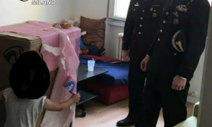 Bambina ferita da un proiettile durante una rapina: i Carabinieri la vanno a trovare