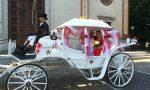 Cinquant'anni di matrimonio festeggiati in carrozza