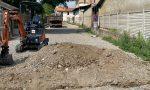 Al via l'asfaltatura del tratto tra via Cornaredo e via Verbania