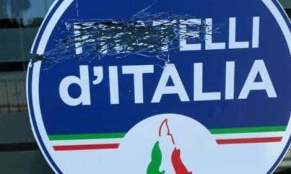 Fratelli d'Italia, vandalizzata la sede di Legnano