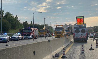 Incidente lungo la A4: traffico bloccato FOTO