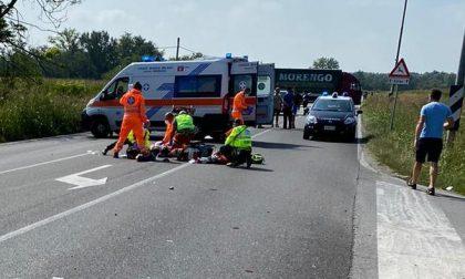 Morto il 43enne coinvolto nell'incidente