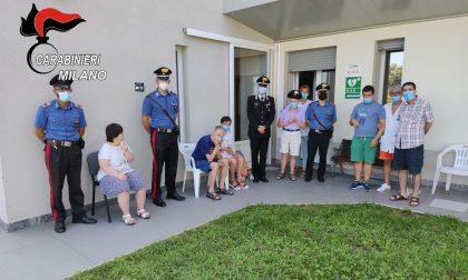 """Carabinieri in visita al """"Melograno"""" di Abbiategrasso"""