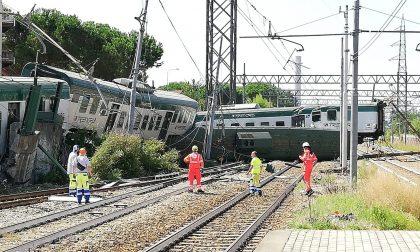 Deraglia un treno sulla linea Lecco - Milano FOTO E VIDEO